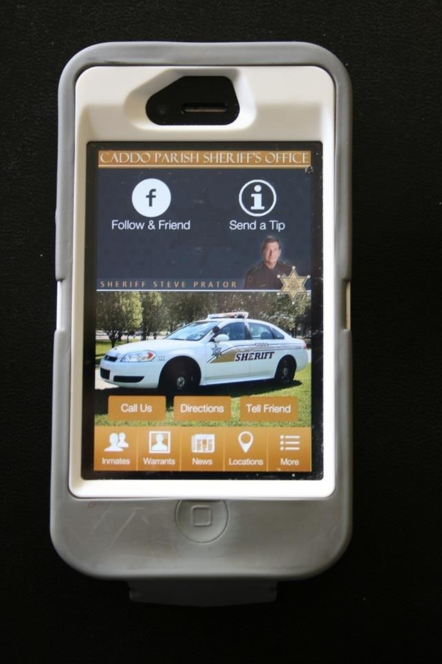 Launch of Caddo Parish Sheriff's mobile app for Apple and