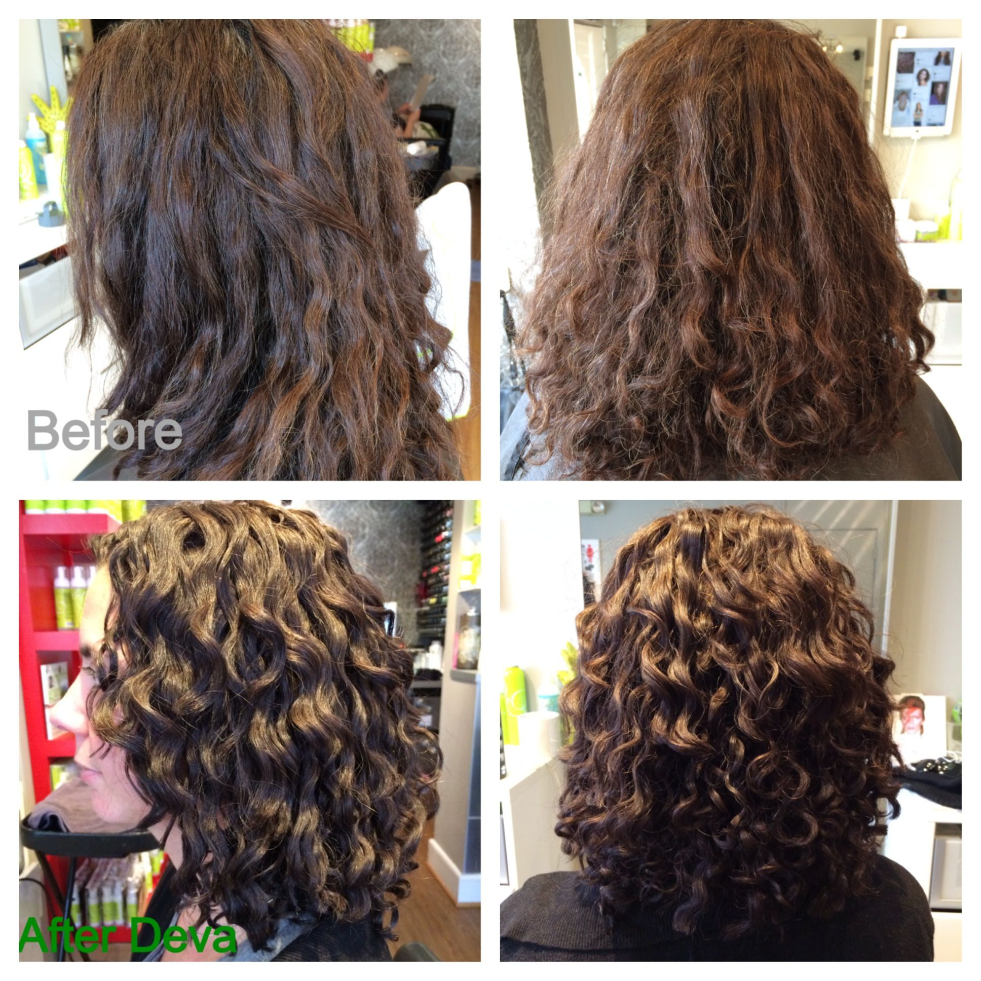 Deva Haircut Before And After Deva Curls Permed Hairstyles