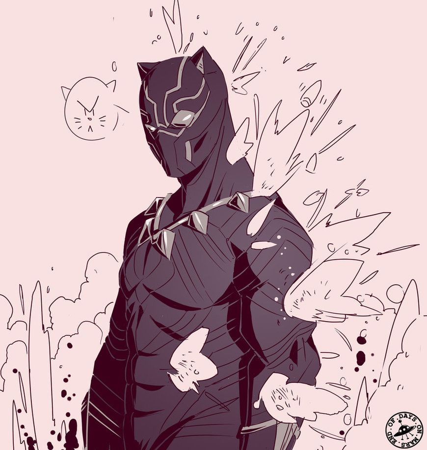 Black Panther Doodle By Signsoflifeonmars Deviantart Com On Deviantart Black Panther Art Black Panther Marvel Black Panther