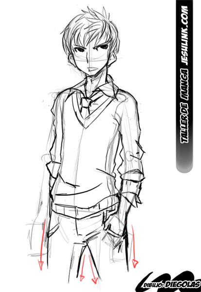 Taller De Manga Como Dibujar Una Chica Manga En 10 Pasos Como Dibujar Cuerpo Anime Como Dibujar Personas Como Dibujar Manga