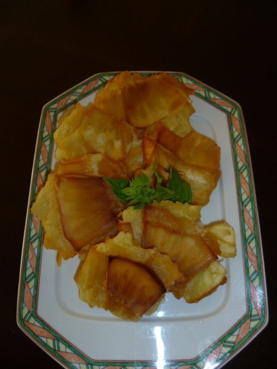 Tostones de panapen.