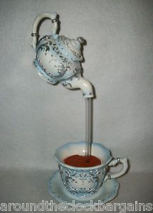 Teacup Fountain Victorian Teapots Tea Pots Floating Tea Cup