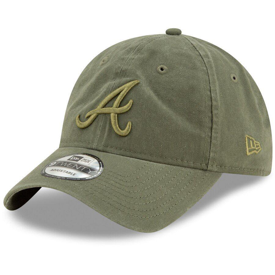 Men S Atlanta Braves New Era Green Tonal Core Classic 9twenty Adjustable Hat Your Price 22 99 Adjustable Hat Atlanta Braves Atlanta Braves Logo