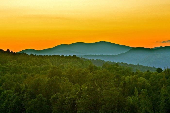 Golden Hour by Casey Caruso on Capture My Vermont // a Mid-Summer night's dream