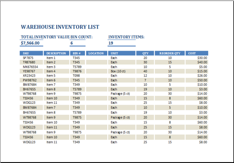 15 Stock Inventory Templates Word Excel Pdf Templates Bookkeeping Templates Project Management Templates Templates