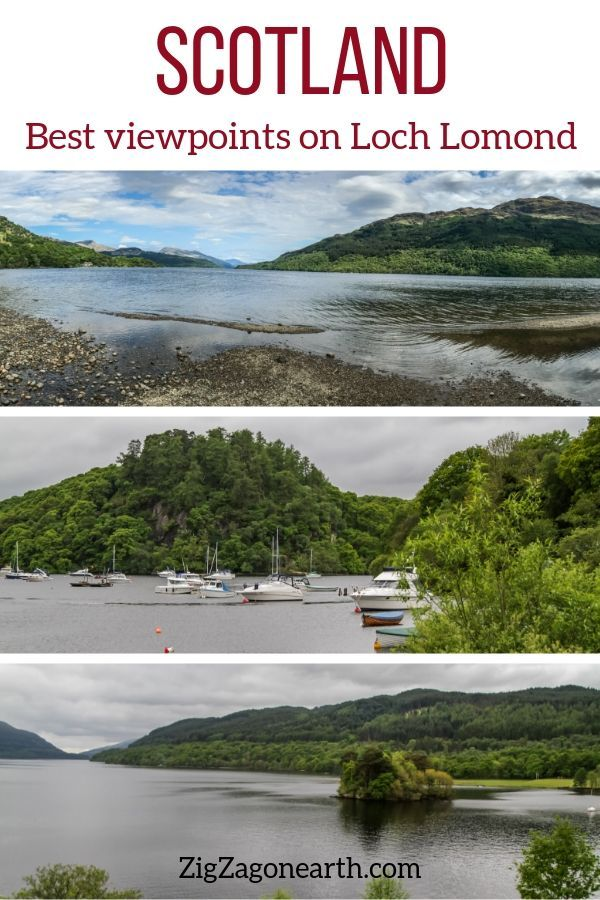 Loch Lomond (Scotland) - Best stops + Viewpoints + Beaches + Villages