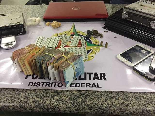 Foto: PMDF/internet/reprodução.     Na noite de sábado (10), policiais militares patrulhavam por V...
