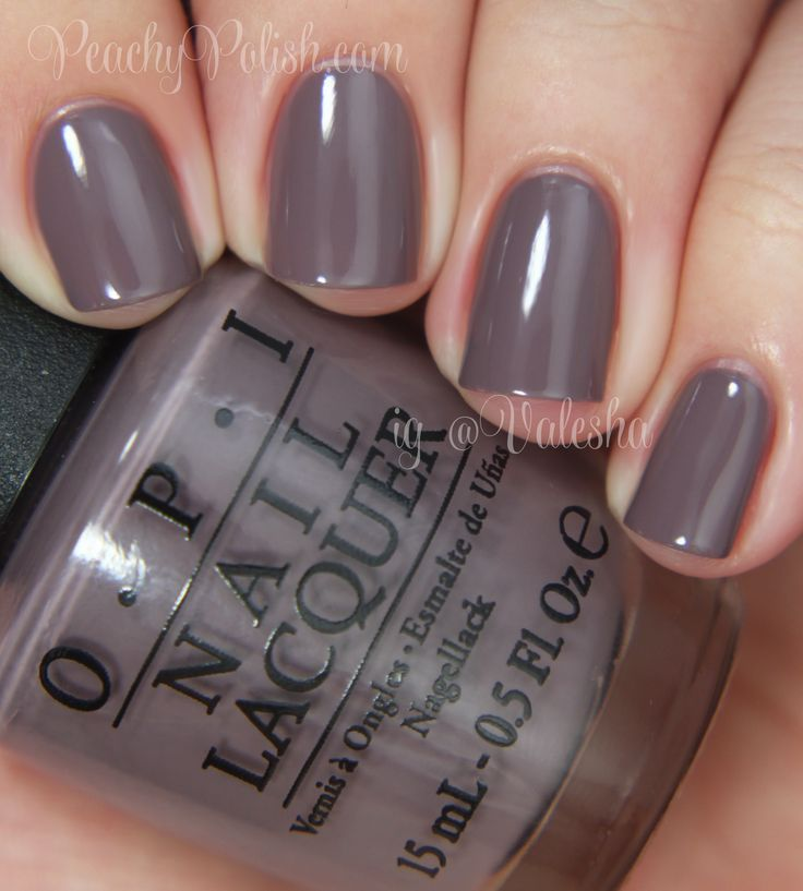 Greyish Brown Almost Purple Opi Spring Summer 2017 Brazil Collection I Sao Paulo Over There