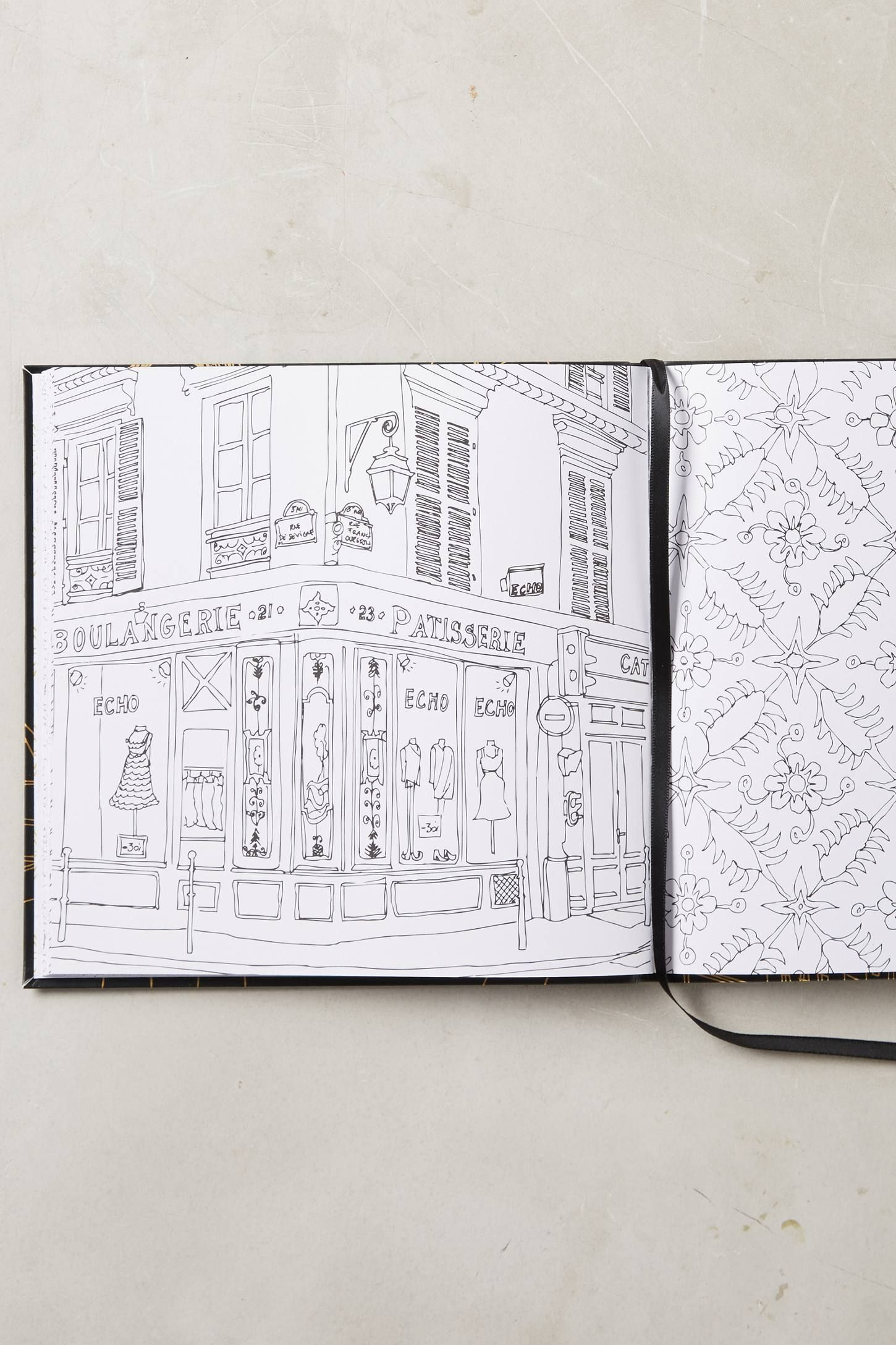 Paris Street Style Coloring Book Coloring Books Paris Street Style Bear Coloring Pages