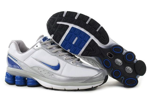 Find Men's Nike Shox Shoes White/Silver/Grey/Blue Authentic online or in  pumafentynl. Shop Top Brands and the latest styles Men's Nike Shox Shoes ...