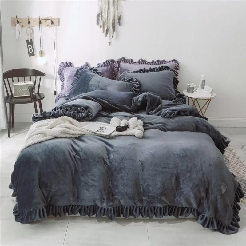 Black Friday Bedding Sets.Black Friday Sale Luxurious Velvet Touch 4 Piece Bedding