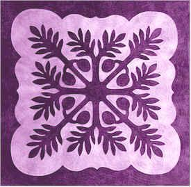 QuiltUniversity.com ... For those of you interested in the beauty of Hawaiian quilts, here's a nice site to wander through. LakeTyeDye says: I absolutely LOVE this type of quilt. Imagine using hand-dyed fabrics!