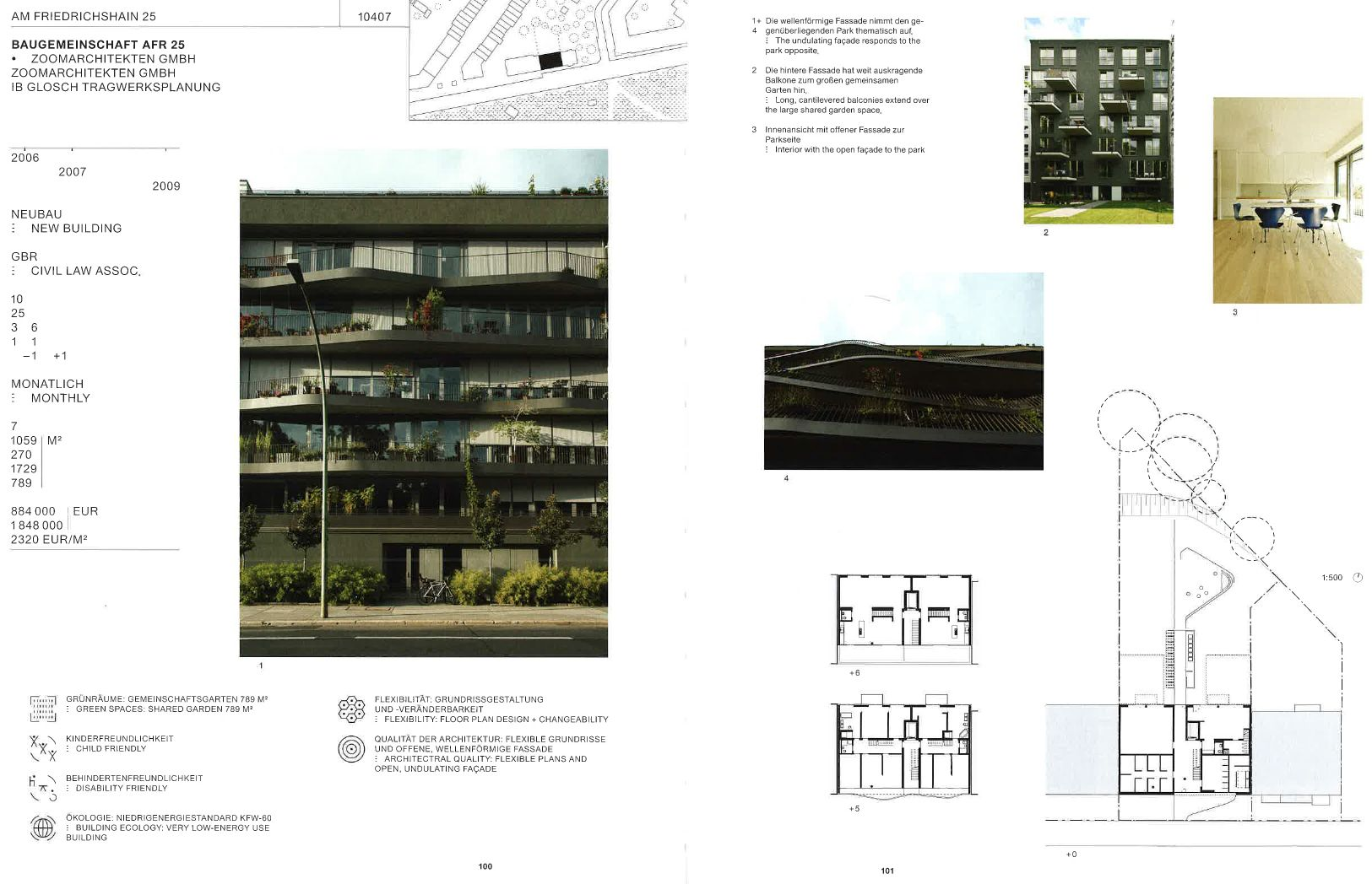 Baugemeinschaft AFR25, Zoomarchitekten, Berlin, DE