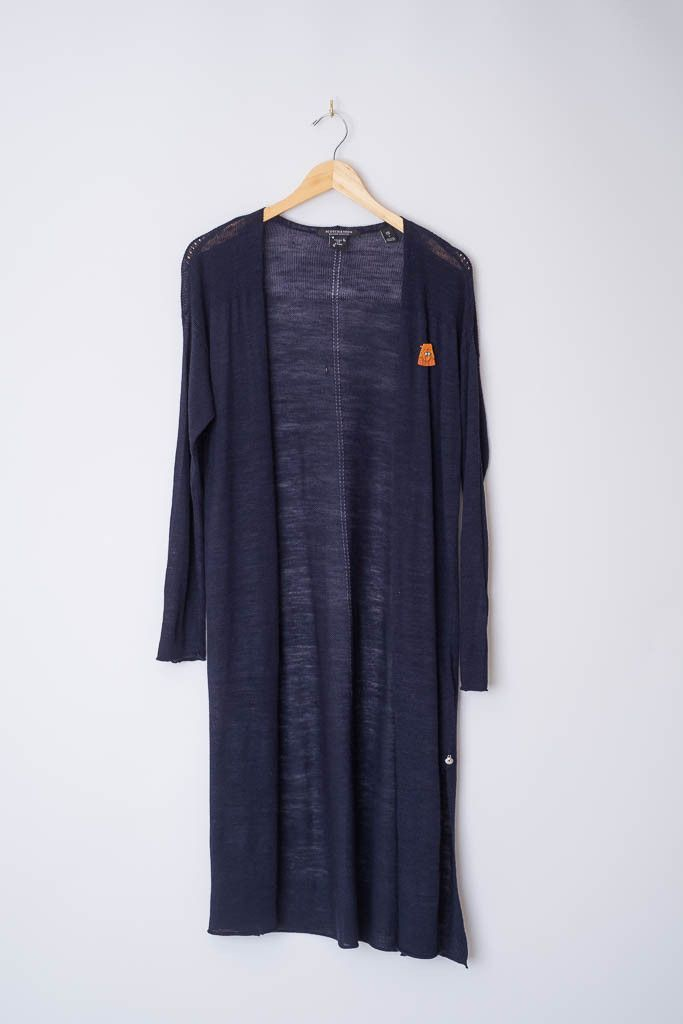 Navy Summer Open Cardigan | Open cardigan and Products