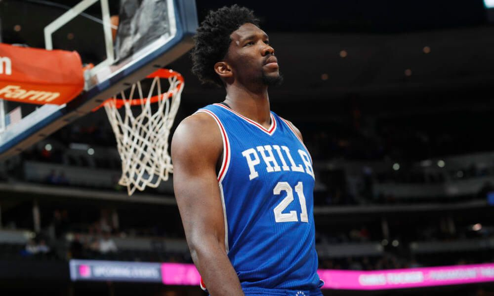 Joel Embiid not pleased with NBA 2K18 rating = Philadelphia 76ers center  Joel Embiid has appeared