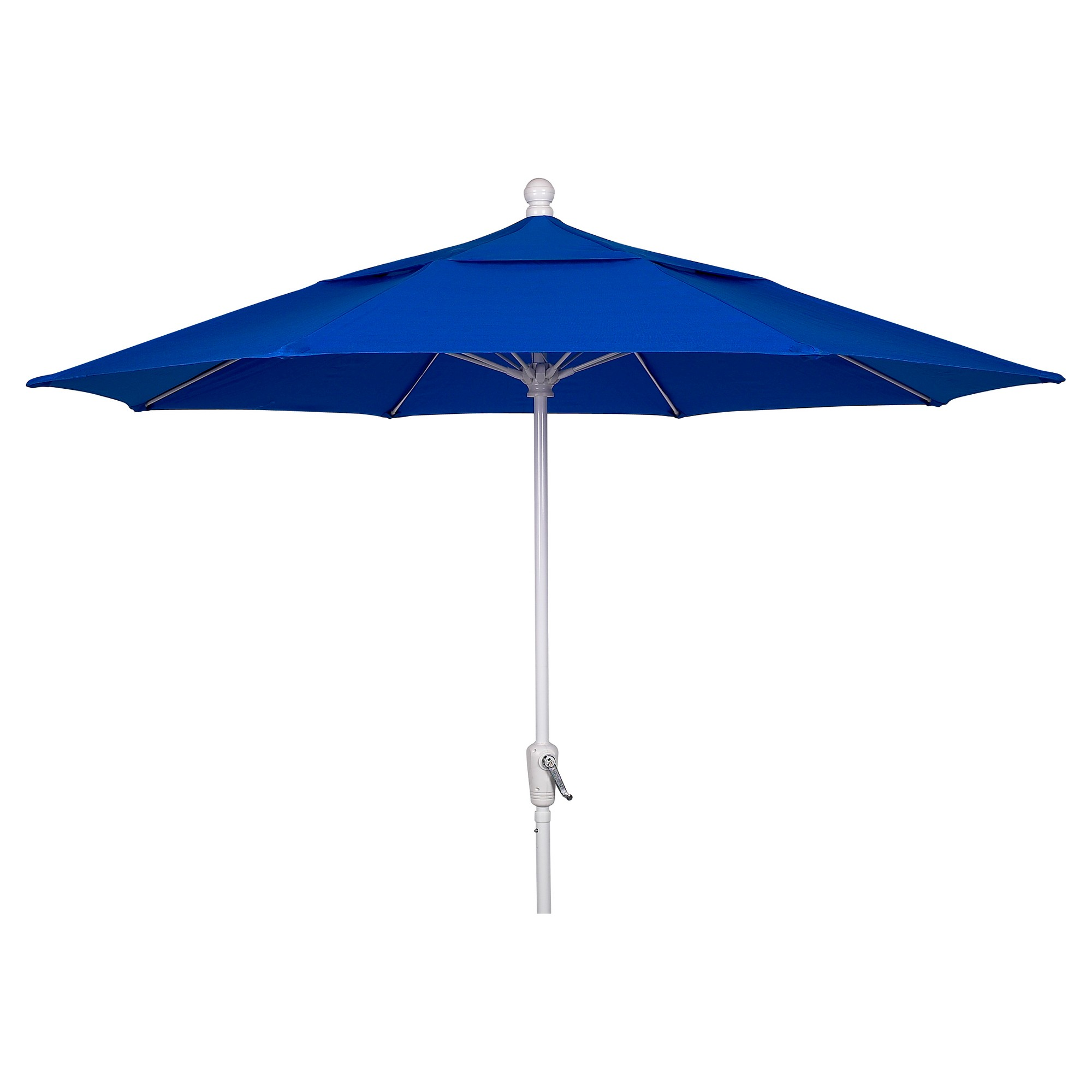 FiberBuilt 9 Patio Umbrella Pacific Blue