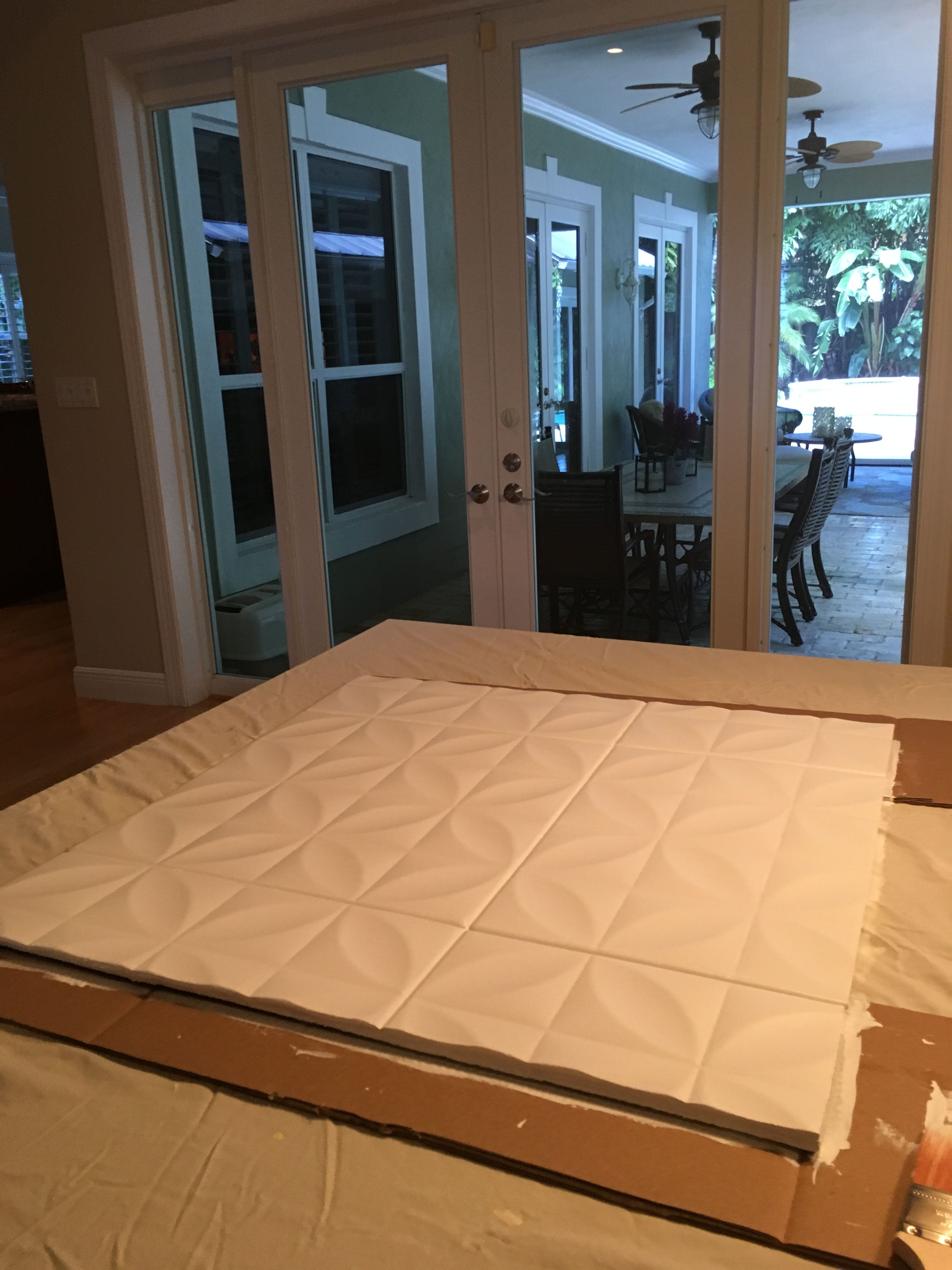 Diy Dorm Headboards Made Out Of Large Cardboard Box