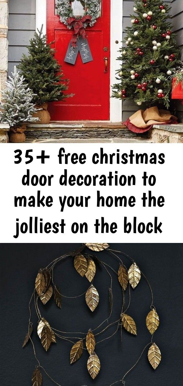 35+ free christmas door decoration to make your home the jolliest on the block new 2020 - page 12 1 #christmasdoordecorationsforwork