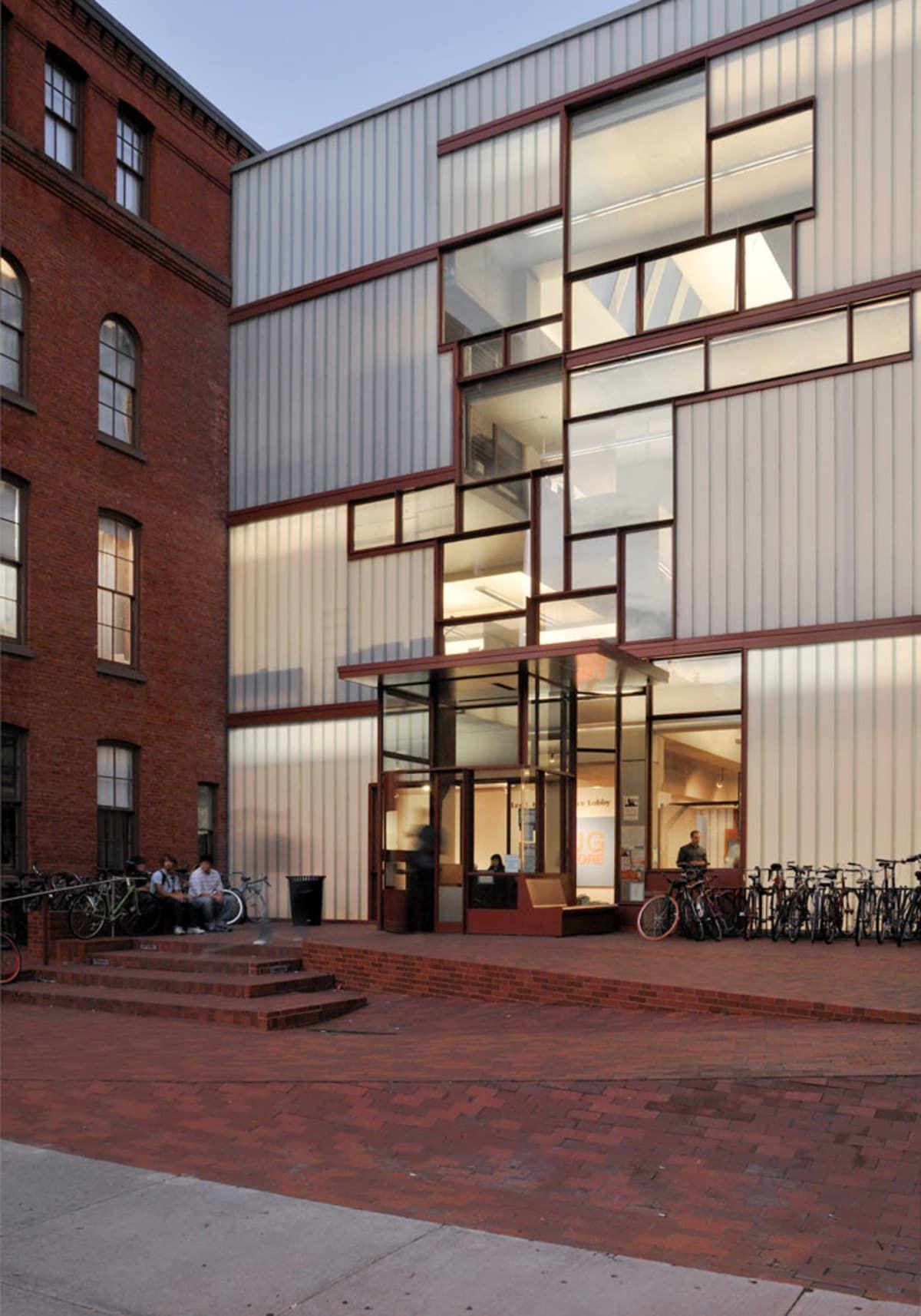 Steven Holl Architects Michele Nastasi Pratt Institute Higgins Hall Insertion Facade Architecture Building Aesthetic Architecture