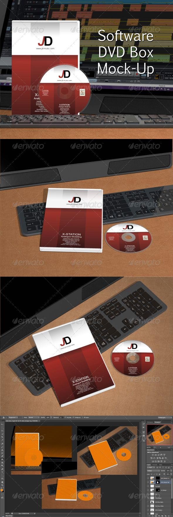 Download Software DVD Box Mock-Up by Fusionhorn Realistic Software ...