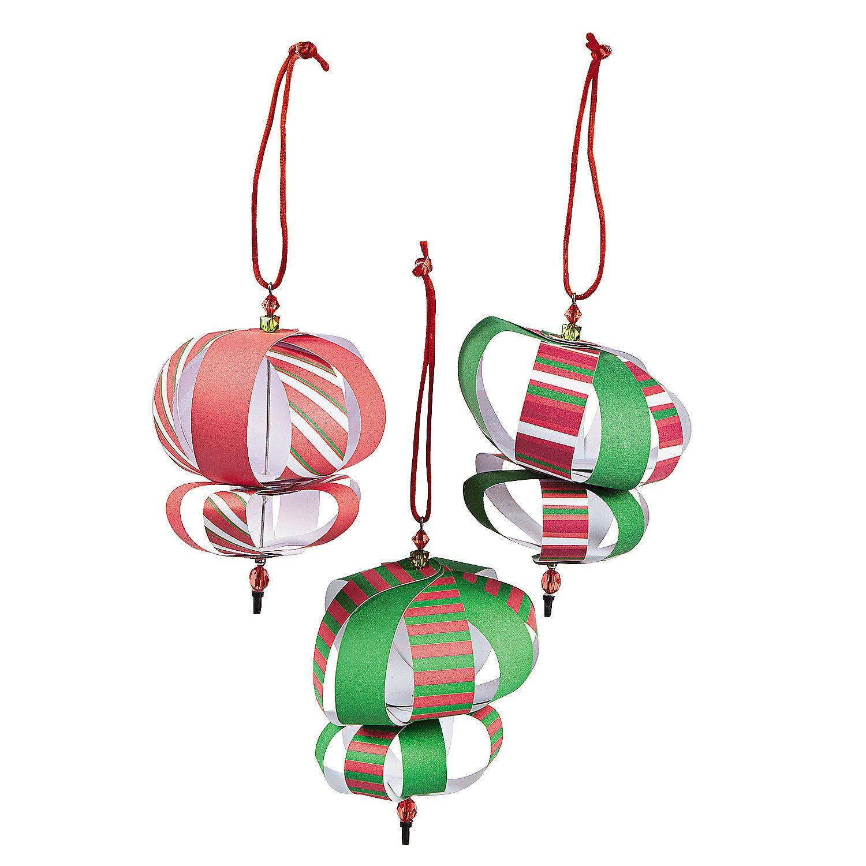Beaded Ornament Craft Kit - OrientalTrading.com
