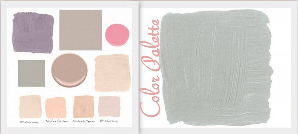 My Dream Closet Vision Board Pink Palette Color
