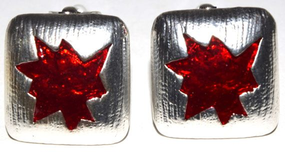 Western Starlet Clip On Enamel Painted by OhlalaJewelryParis