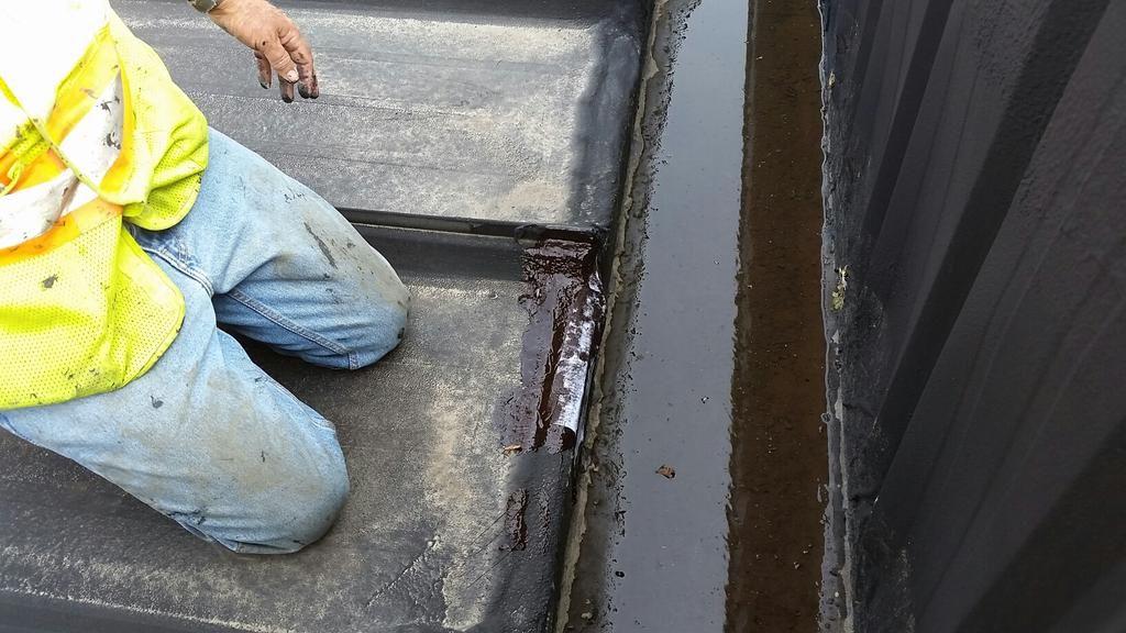 General Roofing GRS on Metal roof repair, Roof repair