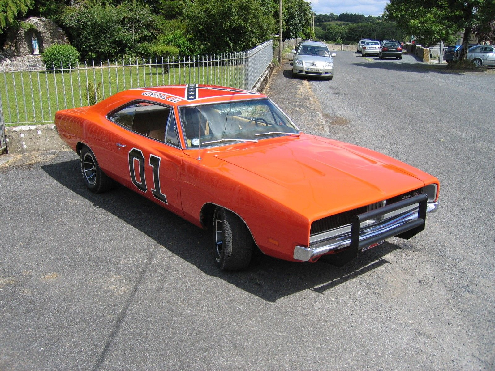 """1969 Dodge Charger R/T """"General Lee"""" / 1600x1200 Wallpaper"""