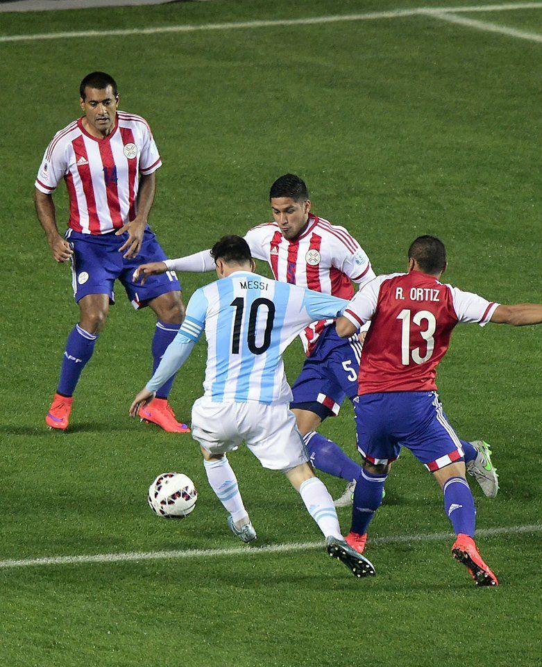 Perú vs. Paraguay: las imágenes del duelo por Copa América