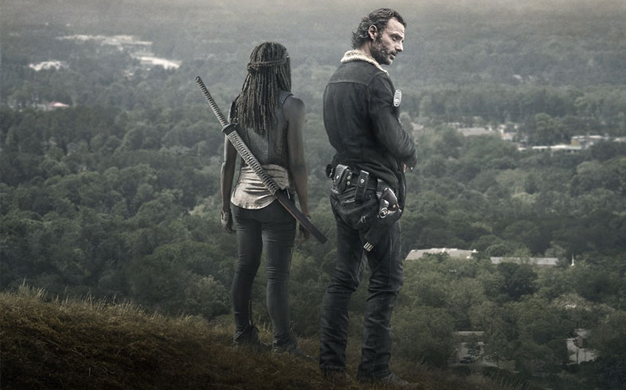 Rick e Michonne - The Walking Dead s06e12
