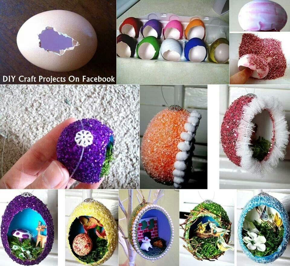 Amazing egg craft