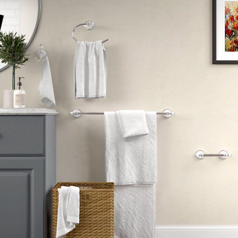 Isai 4 Piece Bathroom Hardware Set Bathroom Hardware Set Bathroom Hardware Bathroom Accessories Sets