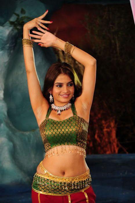 South Indian Actress Blue Film: Sheena Shahabadi Hot Navel