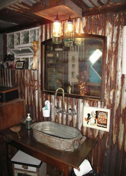 Photo of Diy Bathroom Rustic Corrugated Metal 40 Ideas,  #Bathroom #corrugated #Diy #diybathroomremode…