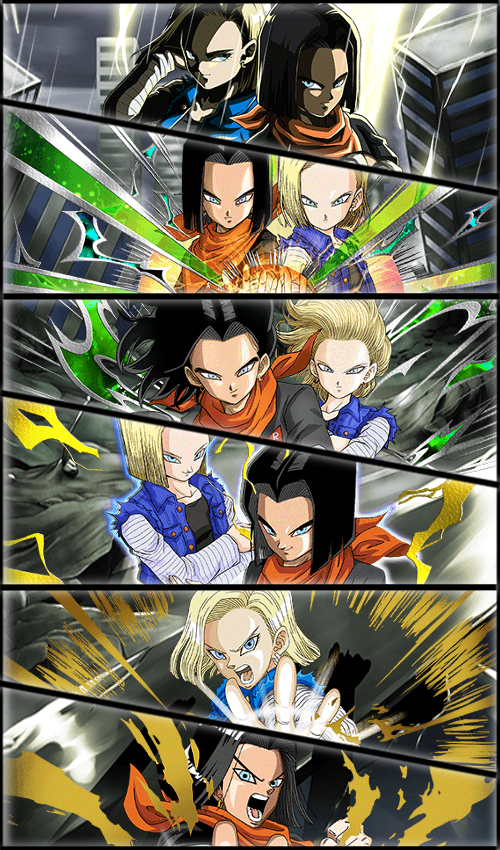 Android 17 Android 18 02 Wallpaper By Zeus2111 Dragon Ball Super Manga Dragon Ball Artwork Anime Dragon Ball