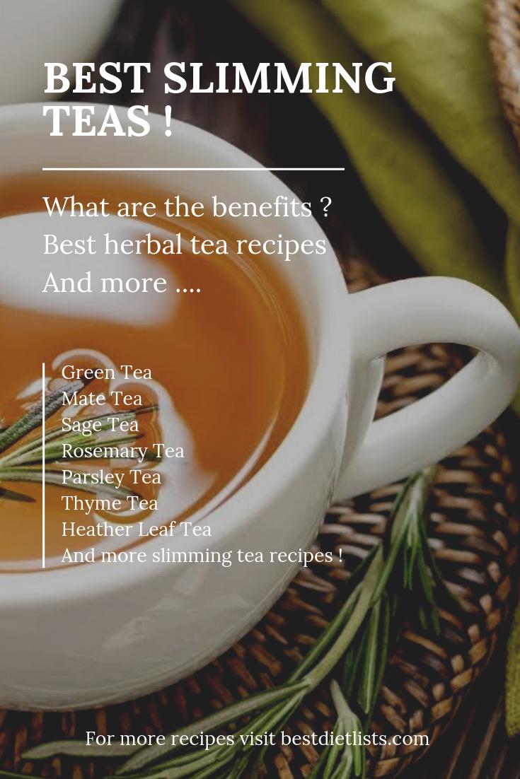 rosemary slimming tea