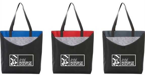 Layer Pocket Non Woven Convention Tote from NYFifth