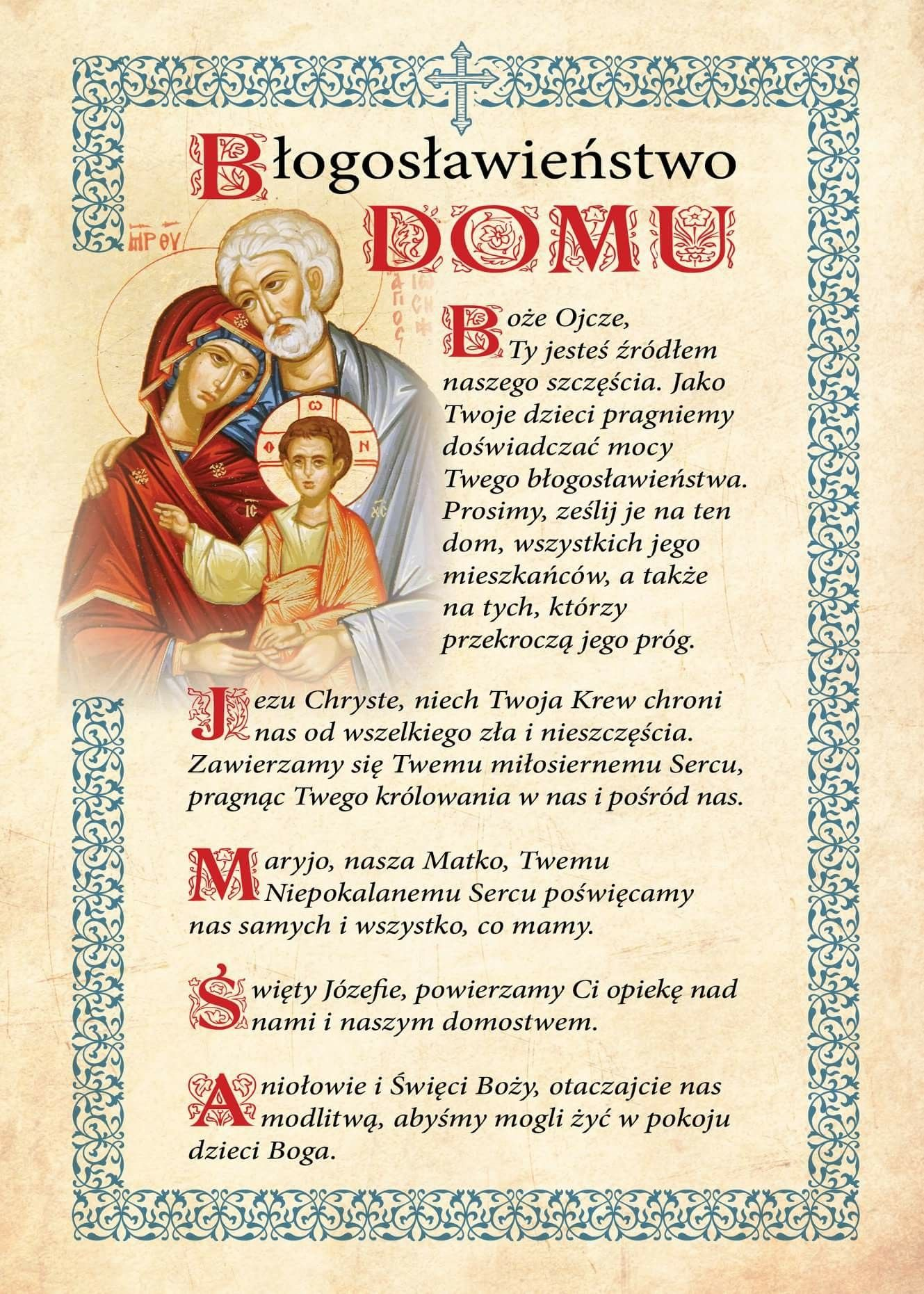 Błogosławieństwo Domu Cytaty Chrześcijańskie Cytaty