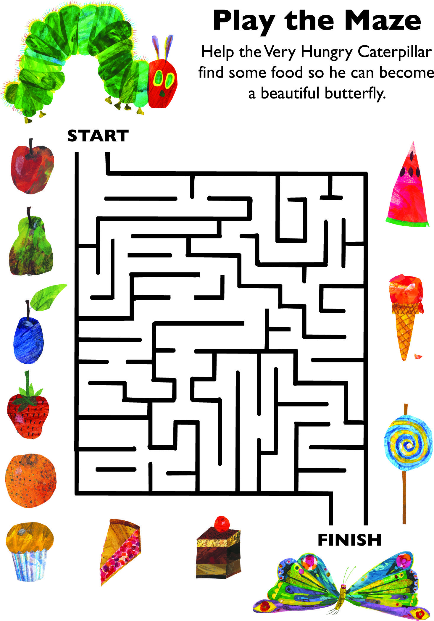 Pin By The World Of Eric Carle On Downloadable Activities