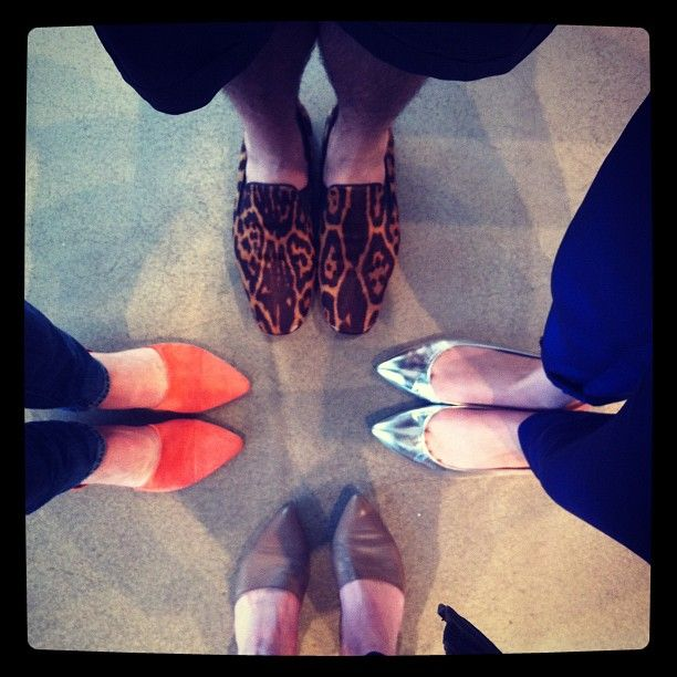 Shoes at the JK office!