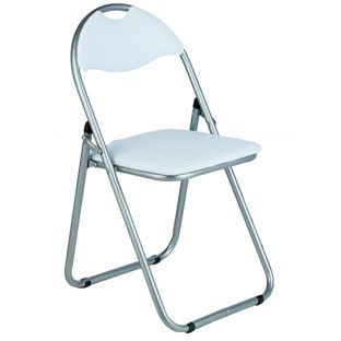 padded folding chairs uk fishing chair/backpack combo buy great value chair white at argos co your