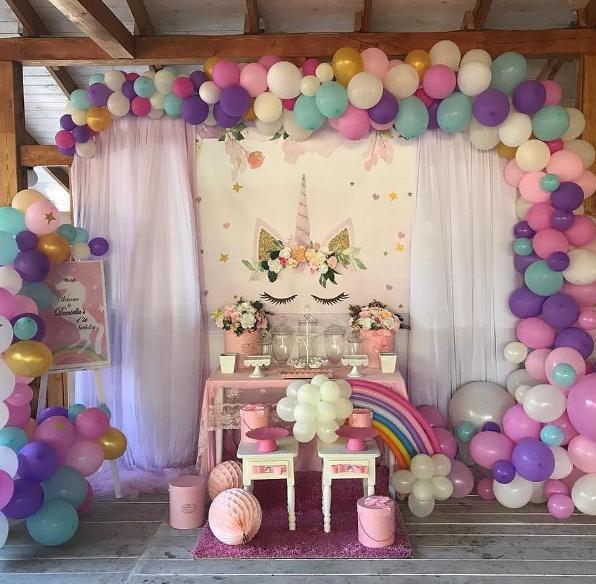 12 ideas para un Baby Shower de Unicornio | Unicorn baby shower ...