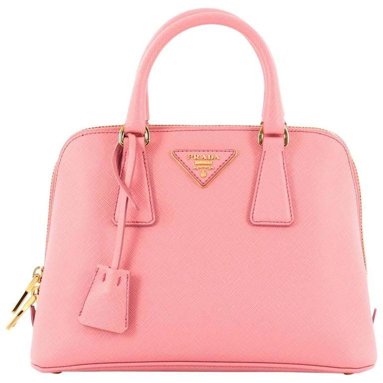 63d6f0614a2b Prada Promenade Handbag Saffiano Leather Small