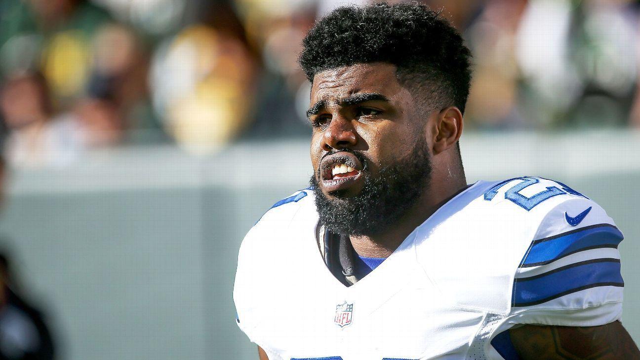 NFL trying to speed appeal over blocked Ezekiel Elliott
