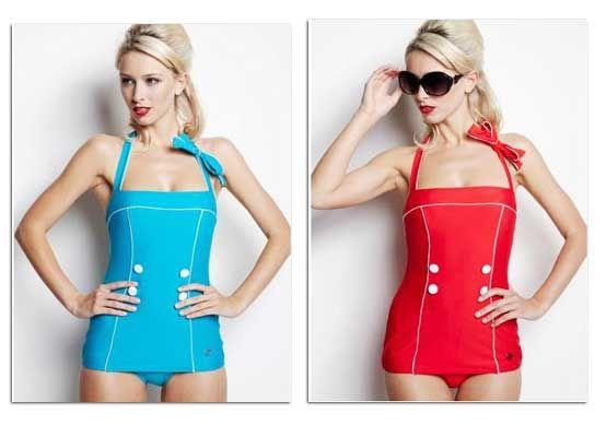 Retro-Style Swimsuits