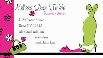 Girly pink and green fashion designer with gown and flowers business girly pink and green fashion designer with gown and flowers business cards http reheart Gallery