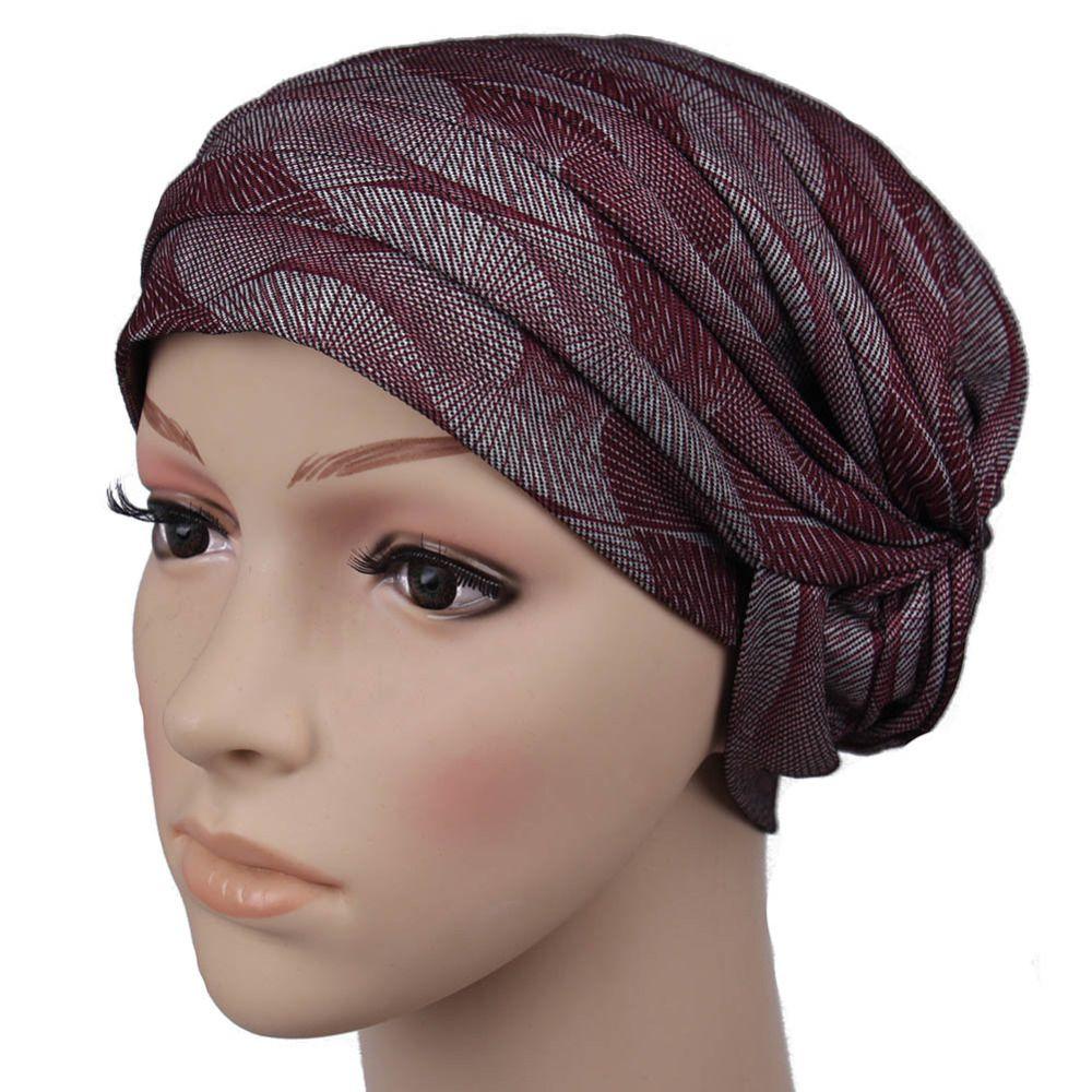 2017 New Muslim Denim Underscarf Caps scarf hijab shawl Turban Headband  Muslim Hat Hijab Women Scarves Headband head cover c5d5a056cbd