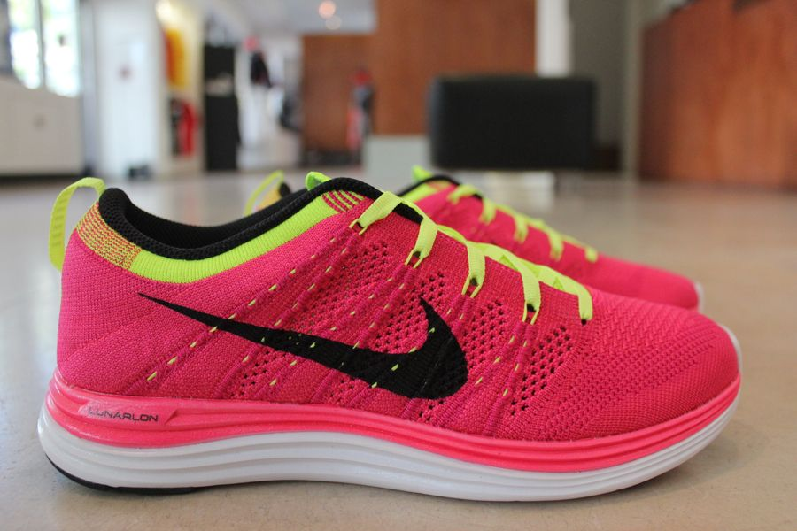 official photos c9688 7e0e6 Nike Flyknit. I love the bright pink color and the support is perfect for  ZUMBA!