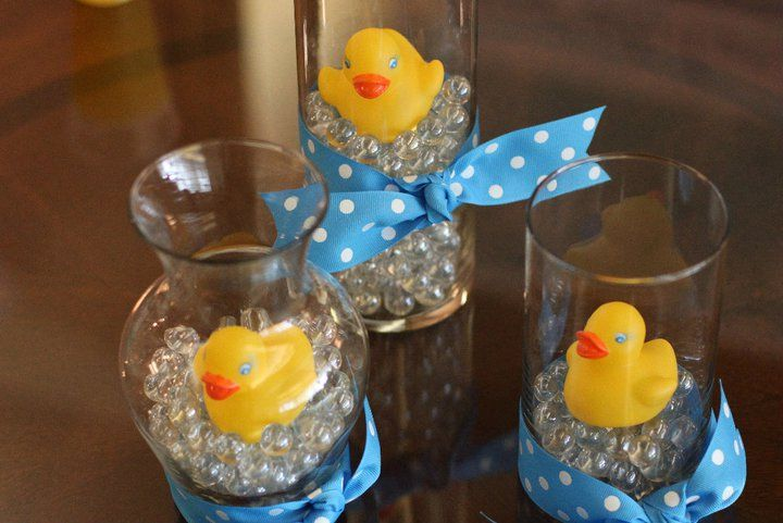 Rubber Ducky Baby Shower Centerpieces | Karla is fabulous at scrap ...